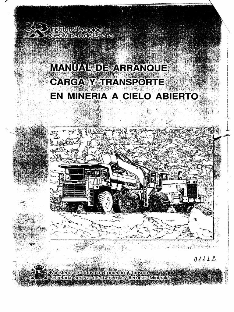 A_Libro_Manual de Carga y Transporte a Cielo Abierto