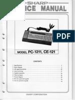 Pc1211 Service Manual