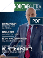Conducta Política Agosto 2014