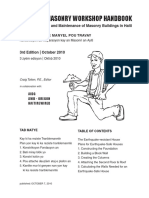 Confined Masonry Workshop Handbook