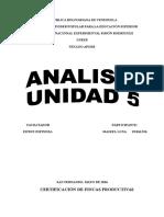 Maikel Analisis de La Unidad 5