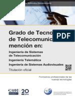 Grado en Ingeneria de Telecomunicacion