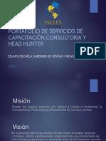 Catalogo de Servicios ESUVEN