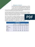 Balanza Comercial Peru