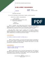 CODIGO DE LA NIÑEZ Y ADOLESCENCIA Reformado el 07-JUL-2014.pdf