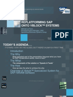 Replatforming Sap Onto Vblock Systems