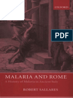 [Robert Sallares] Malaria and Rome a History of M