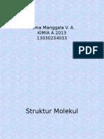 ( 1 ) Struktur Molekul