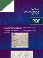 Manejo de Cartas Topográficas