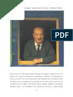La Banalidad de Heidegger