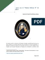 Y Al Fin Qué Pasó Con El Simón Bolívar II de Fernando González - Frank David Bedoya Muñoz - 2016