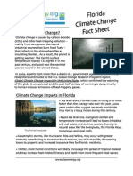 Florida Global Warming Fact Sheet