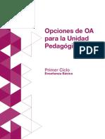 Primer Ciclo_Opciones dddde OA Para La Unidad Pedagogica