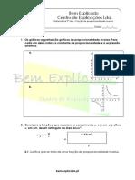 2.2 Função de Proporcionalidade Inversa Ficha de Trabalho 11