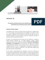 Circ145 Sanciones a Companias Que Reportan a UAF