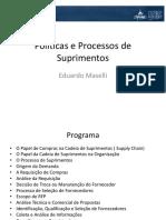 Curso Políticas e Processos de Suprimentos AVM A1