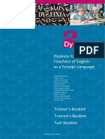 Dyslexia English Teaching