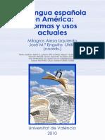 Aleza-Enguita, La lengua española en América, normas y usos.pdf