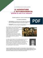 BATTISTINI Andrea Autobiografismo Versus Autobiografia