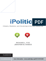 Richard L. Fox, Jennifer M. Ramos-iPolitics_ Citizens, Elections, And Governing in the New Media Era-Cambridge University Press (2011)