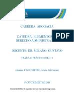 Finochietto, Maria Del Carmen Trabajo Practico 2 Derecho Administrativo