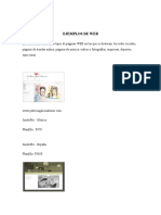 Ejemplos de Web, Navegadores, Tipos de Navegadores