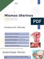 Miomatosis uterina FTA