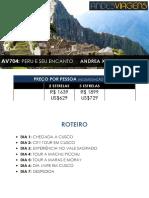 Andrea x02 Av704 Peru e Seu Encanto