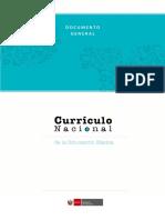 Currículo nacional de la educación básica Perú