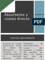 Expo 3 Costeo Por Absorcion y Costeo Directo