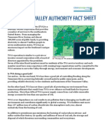Tennessee Valley Authority Fact Sheet
