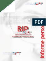 BIP Informe PErsonal
