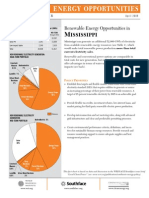 WRI Mississippi Renewable Energy Fact Sheet