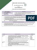 Plan de Diagnóstico Agosto-2014