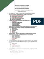 Examen de Patología Resuelto