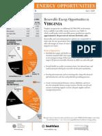 WRI Virginia Renewable Energy Fact Sheet