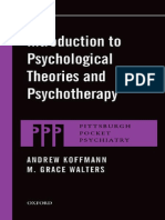 (Pittsburgh Pocket Psychiatry) Andrew Koffmann, M. Grace Walters-Introduction to Psychological Theories and Psychotherapy-Oxford University Press (2014)