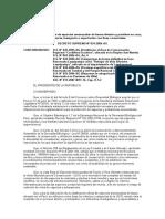DS N°34-2004-AG- Aprueban categorización de especies amenazadas de fauna silvestres