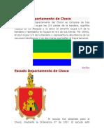 Bandera Departamento de Choco