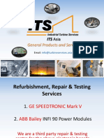 ABB Bailey INFI 90 IPSYS01 IPFLD24 IPFLD48 IPMON01 Power System Module Repair & Refurbishment