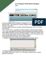 Membuat Topologi Jaringan Sederhana Dengan Cisco Packet Tracer