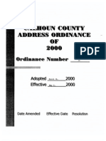 Address Ordinance