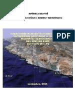 2006 InformeTecnico POI GR1 Metalogenia Arcos Yacimientos Lat 16 14 Acosta