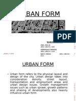 8 Urban Form