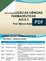 Aula Legislação Profissão Farmacêutica