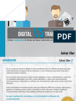 Recruiter Digital vs Director de RRHH Tradicional