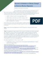 100 New Nuclear Reactors Fact Sheet Nov09