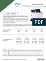 Dracast LED1000 Panel Silver Series Info Sheet