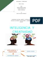 inteligencia y ceatividad