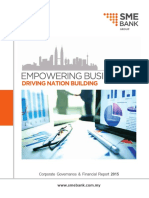 SME Bank 2015 Corporate Governance & Financial Report